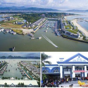 Cảng Tuần châu - Một trong hai cảng chính hành trình thăm vịnh